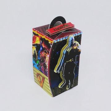 Caixa Retângulo - Vingadores Guerra Infinita