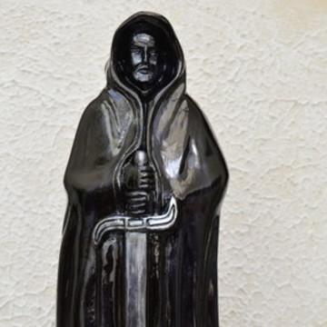 Escultura Exu Vitral em Gesso | Estátua Exu