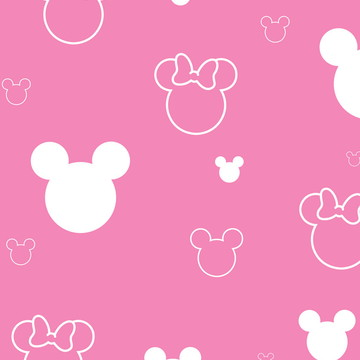 Papel de parede Disney Minie