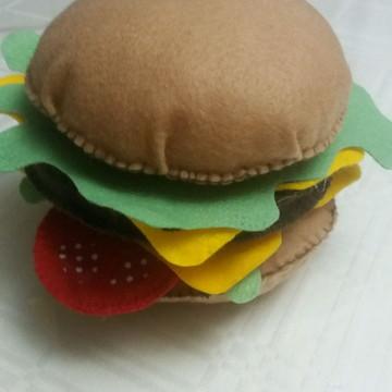 Hambúrguer em feltro