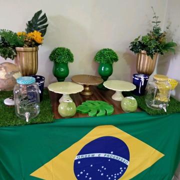 Locação kit decoração copa do mundo