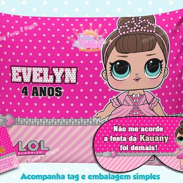 Almofadas Personalizadas LOL SURPRISE com mascara