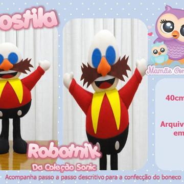 Apostila RoboTnik - Coleção Sonic - em Feltro