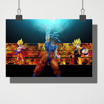 Poster A4 Dragon Ball Z