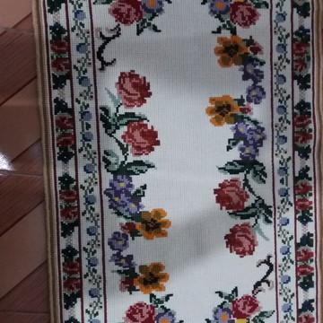 Tapetes de lã ponto gobelin