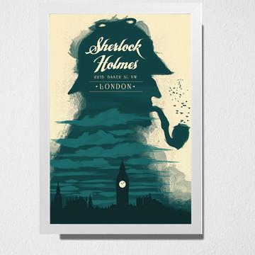 Quadro A3 Sherlock Holmes