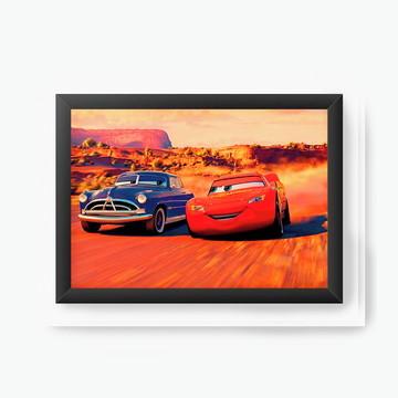 Quadro Decorativo McQueen and Doc Hudson cod3039