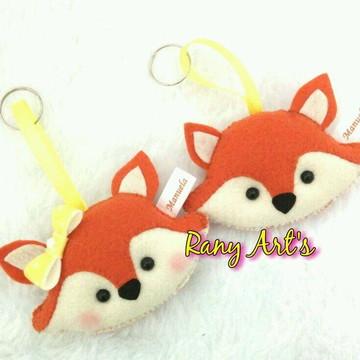 Chaveiro raposinha - chaveiro raposa