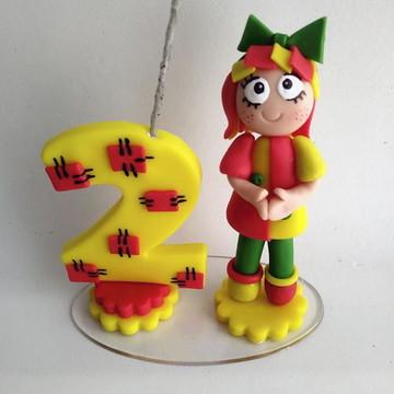 Vela de Biscuit Emília