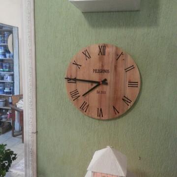 Relógio Rústico Pallet