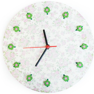 Relógio Floral I