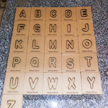 Faca alfabeto
