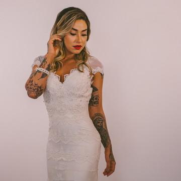 Vestido de noiva Merlines DELUXE - Boho chic