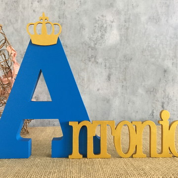 Letras Decorativas - PEQUENO PRÍNCIPE