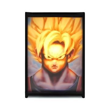 Luminárias box MDF Goku