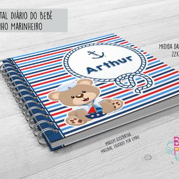 Miolo Digital Diário do Bebê Marinheiro