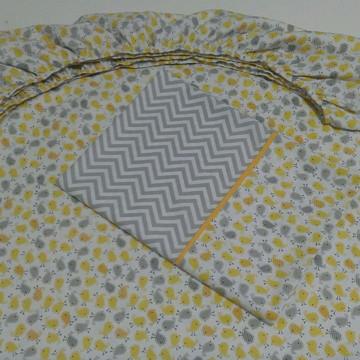 Jogo de lençol para cama de solteiro