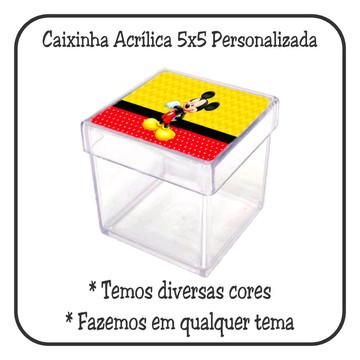 Caixinha 5x5 - Mickey