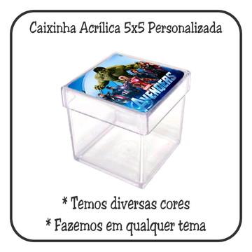 Caixinha 5x5 - Vingadores