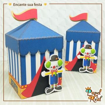6a4c08586f Caixa Tenda Circo Azul