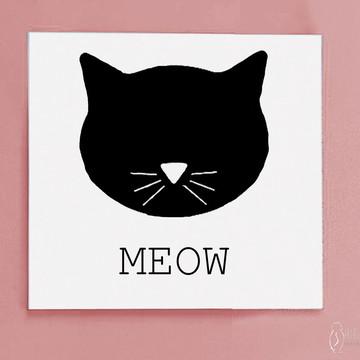 Quadro Meow