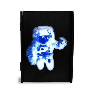 Luminárias box MDF Astronauta