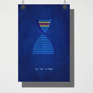 Poster A4 X man