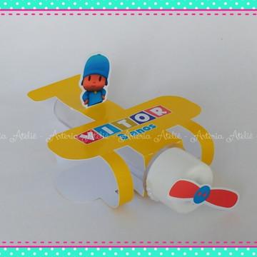 Aviao para Tubete Pocoyo