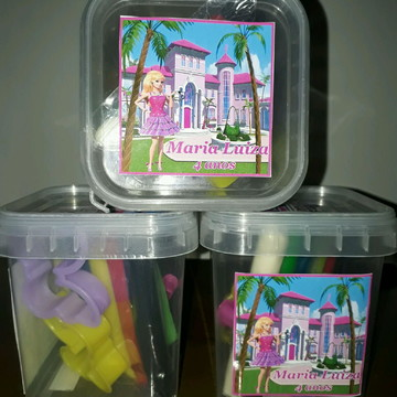 Kit massinha Barbie