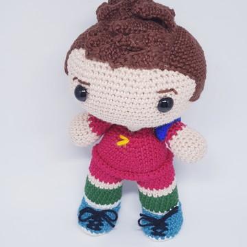 Amigurumi: Boneco de crochê - Cristiano Ronaldo