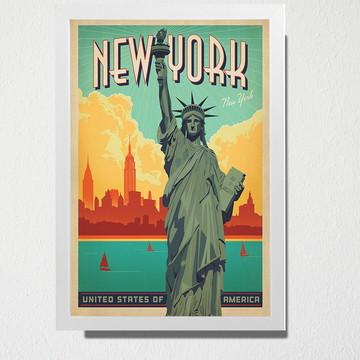 Quadro A3 New York