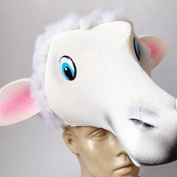 chapéu ovelha em espuma 09bf2e31639