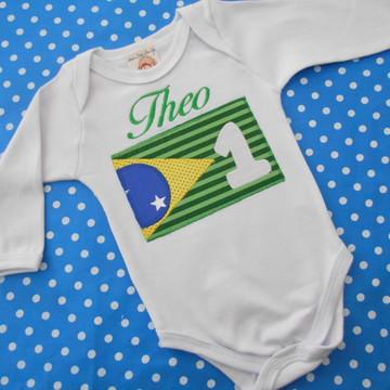Body mesversario Brasil