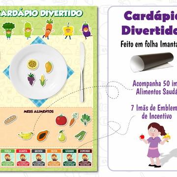 Cardápio Infantil Divertido