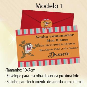 Convite-Taz Mania