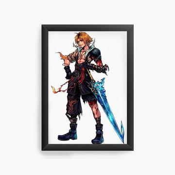 Quadro Decorativo Final Fantasy cod25