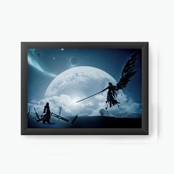 Quadro Decorativo Final Fantasy Dark cod161
