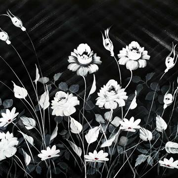 Quadro de flores para sala 70x100