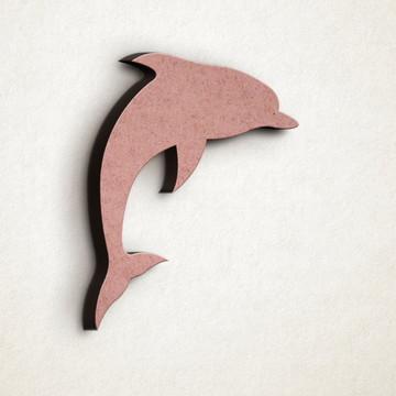 Aplique/Recorte/Pingente - laser - golfinho