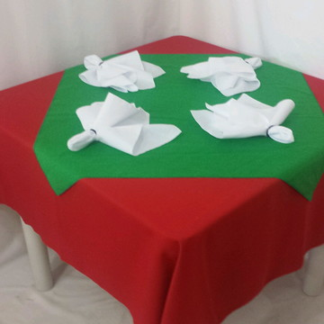 Kit festa 10 Toalha de Mesa + 10 Cobre mancha+40 guardanapo