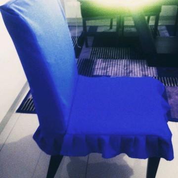 Capas de cadeiras de jogo de jantar em acquablock