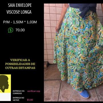 9591f05ecb Saia Longa Envelope - VISCOSE