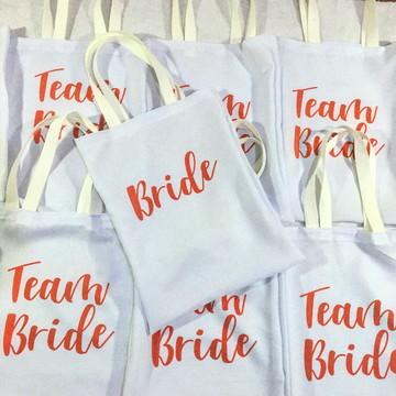 Bolsa eco personalizada - Bride, team bride - Despedida