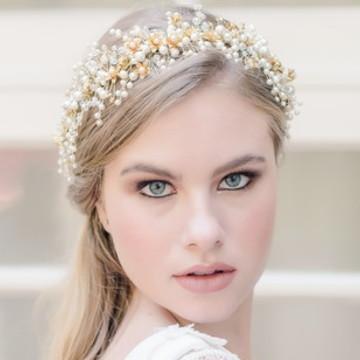 Aurora - grinalda para noivas
