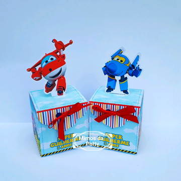 Caixs cubo super wings
