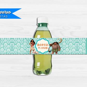 Rótulo para refrigerante - Moana