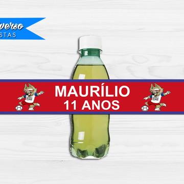 Rótulo para refrigerante - Copa do mundo