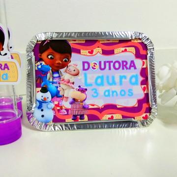 Marmitinha Personalizada - Dra. Brinquedos