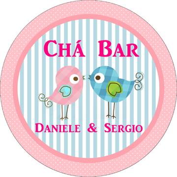 Rótulo Latinha Chá Bar
