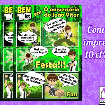 Convite Gibi Ben 10